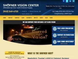 Shofner Vision Center